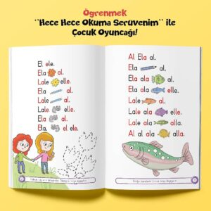 Çocuk Gezegeni Hece Hece Okuma Serüveni - İç Sayfa 1