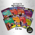 Çocuk Gezegeni - Matematik Öğreniyorum 8 Kitap
